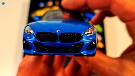 展示好多辆不同款式不同颜色小汽车玩具