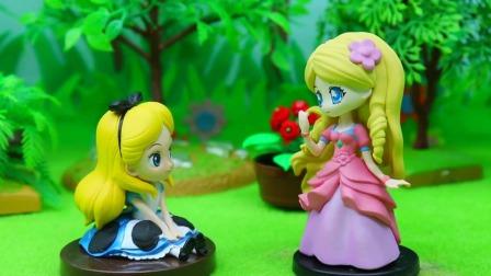 爱丽丝羡慕公主们的美貌,于是请求灵公主帮助,结果大家都变丑了