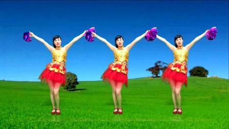 喜庆花球广场舞《红红火火发大财》事事顺心好运来