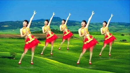 豪迈大气的广场舞《大中国》为你自豪,为你骄傲!