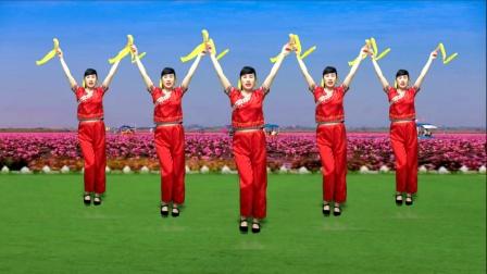 喜气洋洋广场舞《喜庆民乐曲》欢乐祥和,共迎佳节