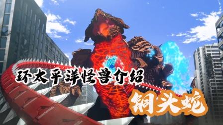 身体发出红色生物光,宛如火山熔岩的四级怪兽铜头蛇