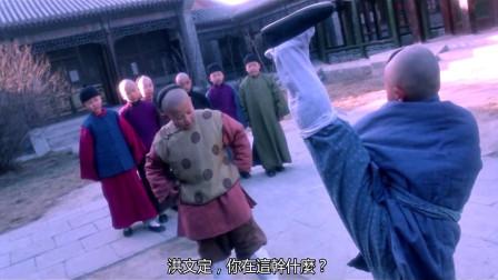 不愧是李连杰御用配角,这腿压的是有多稳