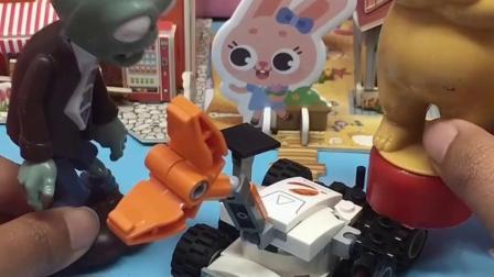 少儿玩具:熊二的外星太空小汽车