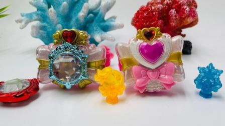 巴啦啦小魔仙魔法精灵宝石手镯,魔法海莹堡2变身玩具!