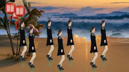唯美广场舞《牧羊姑娘》优美新颖,醉心好看,精彩无限