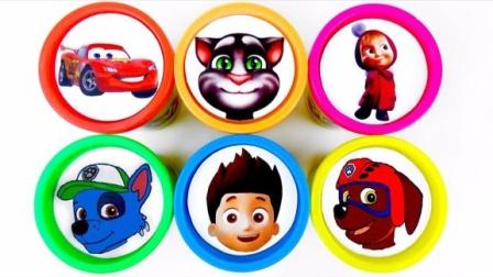 培乐多彩泥创意新玩法,汪汪队儿童益智玩具激发宝宝色彩创造力!