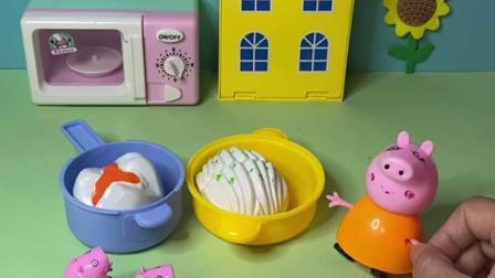 趣味玩具:猪妈妈做好饭了,但是吃饭之前要说暗号!