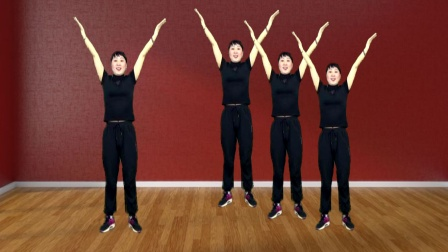 活力健身32步《倔强的麻雀》动感活力 附教学