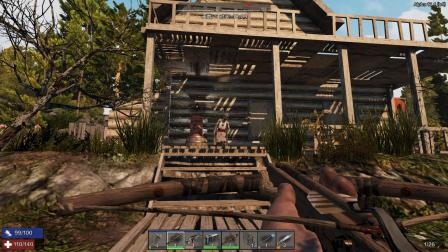 僵尸家族《无人小镇》50,森林打野,拿着物资回到基地