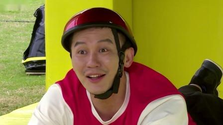 会员版 李晨搞怪模仿鲶鱼嘲讽值拉满,结果下一秒就被锤中脑袋