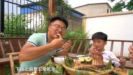 """10元臭豆腐粽子,5斤碳烤大排,暴雨前享受""""有味大餐""""太滋润"""