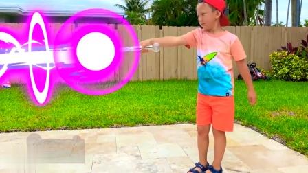 萌娃拥有魔法棒,看看魔法棒能做什么