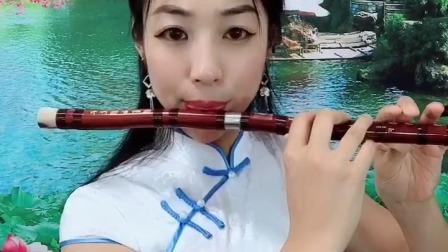 《梦里水乡》笛子演奏,F调两节瑾儿乐坊演奏级精品笛子