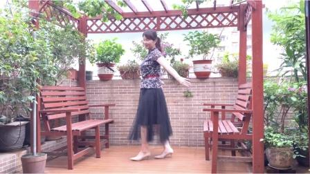 最新原创广场舞「一朵情花开」简单舞步