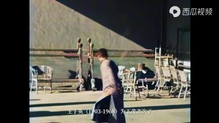1930S吴式太极拳北派宗师王茂斋和次子王子英太极剑演练