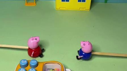 趣味玩具:佩奇偷猪爸爸的手机