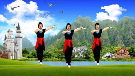 广场舞《来跳舞》流行印度小调,简单32步 时尚好看