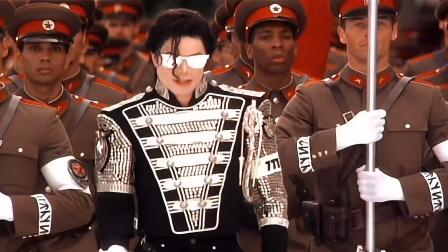 迈克尔杰克逊名场面,总统规格,军队护驾,全球唯一开演唱会动用军队的人