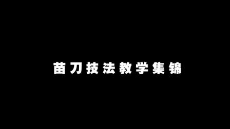 苗刀技法教学集锦