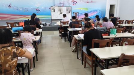 儋州市文化馆公益成人国画班第五次素描学习剪影