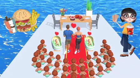 模拟人生:塔米趁孩子睡着后偷吃大餐,结果被发现了!