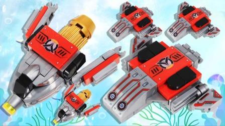 潘洛斯奥特曼拼装载具飞行器 时空战机 鳕鱼乐园