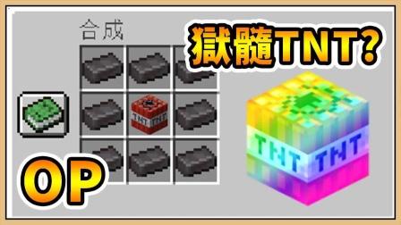 鬼鬼【我的世界】自定义TNT【生存挑战】狱髓TNT多夸张?