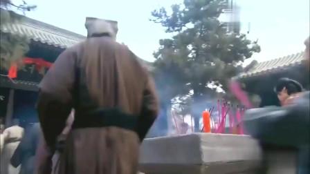 《精忠岳飞》皇帝来到岳飞庙,不料百姓根本不理会,反让他给岳飞磕头