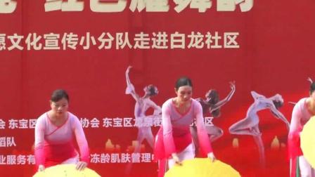 白龙社区雨林舞蹈队庆七一活动实况