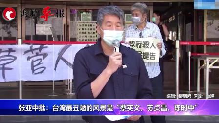 民进党拒海外疫苗,张亚中:台湾最丑的风景是蔡英文苏贞昌陈时中