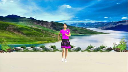 宇美广场舞原创《我的眼泪是你赐的礼物》正面演示及口令教学
