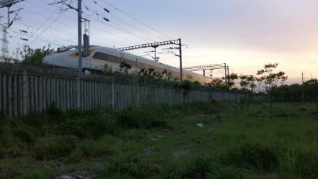 【宁启线】G3291/4次(西安北→上海虹桥)虹桥动车所CR400BF-5001担当