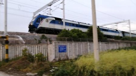 【宁启线】京局京段DF11G牵引0Z30次(南通→扬州)达速通过江都站