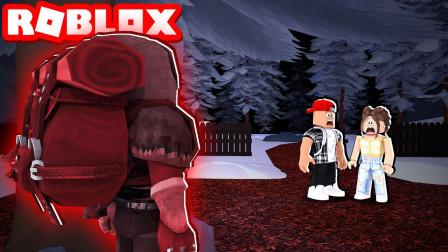 ROBLOX怪兽黎明:老旧学校躲避怪物坚持到天亮!咯咯多解说