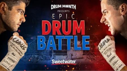★ME威律动★Cobus Potgieter - Casey Cooper - Epic Drum Battle