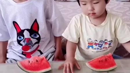 被哥哥坑出经验了,有谁想吃西瓜的来啊