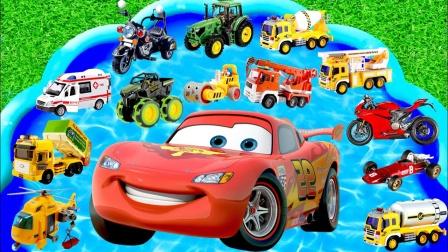 玩具总动员,大飞机、挖掘机、消防车,你最想要哪一个?