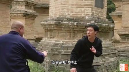 200万粉丝的网红,传统武术国术散手大师,挑战散打冠军薄福凡