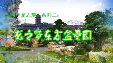 """太湖""""龙之梦""""系列二:《龙之梦东方盆景园》"""