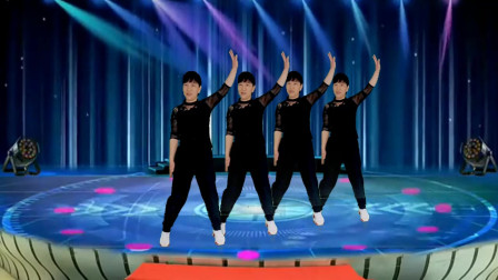 郴州冬菊广场舞【爱难求情难断】64步时尚现代舞简单易学