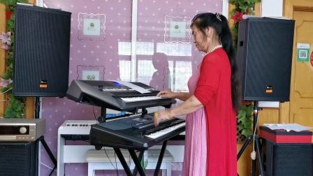 《太湖美》视频双层电孑琴演奏2021.6.15.🌺🌴🌴🌴🌴🌴