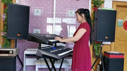 《在希望的田野上》视频双层电孑琴演奏2021.6.15.☘☘☘