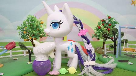 小马宝莉:优雅珍奇发型设计玩具分享