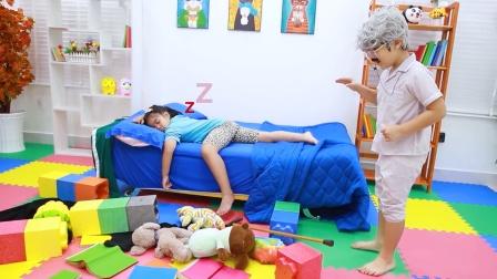 小萝莉被外公掌控,我想睡觉!谁来救救我