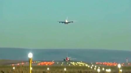 塔台:快走,地面小飞机还没起飞,A380已经在头顶等不了了