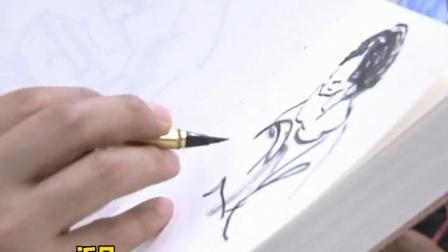 """杭州地铁这位""""速写哥"""",3年用上万幅作品记录下众生百态!"""