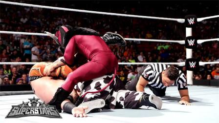 WWE小侏儒身高仅134厘米,可面对身高一米八的大块头,他也毫不胆怯