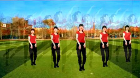 动感精选广场舞《红红红》魅力无限,激情如火,跳出好身材!