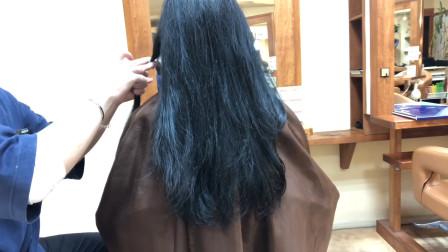 """35岁女性及腰长发剪成""""鲍勃头""""短发,显年轻有气质,越看越喜欢"""